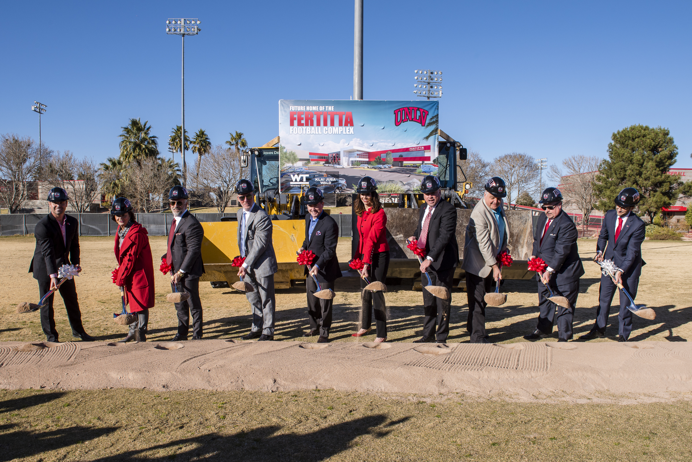 cd36422e8d9d It took a while. But UNLV will finally build a football training center.  Photo credit  Bryan