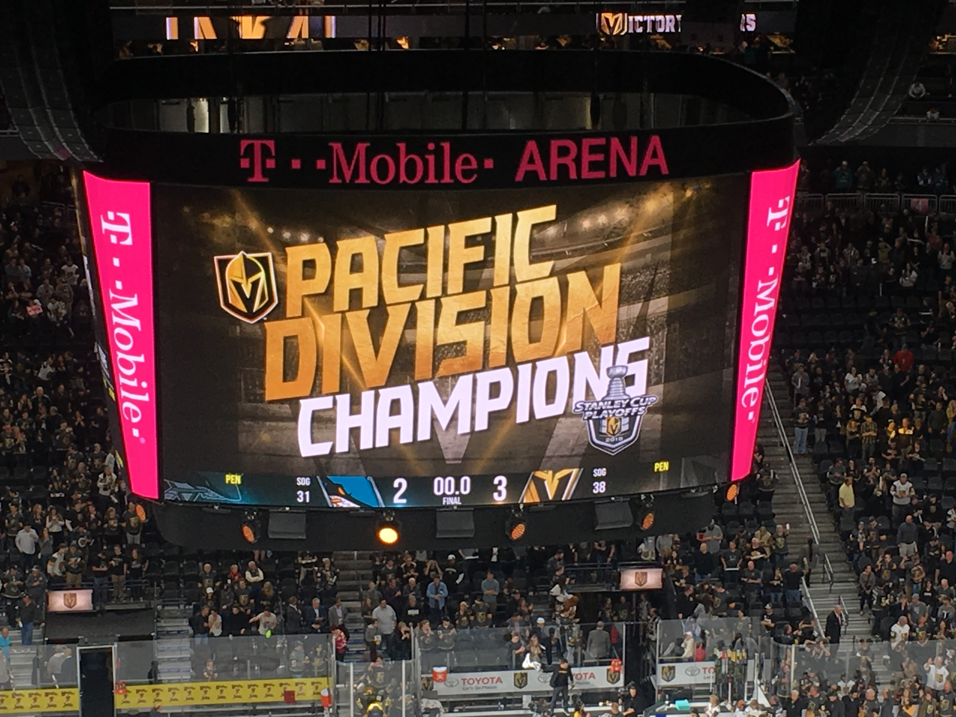 At Final Home Game, Golden Knights Clinch Pacific Division Crown Thanks To Wild Bill's Highlight ...