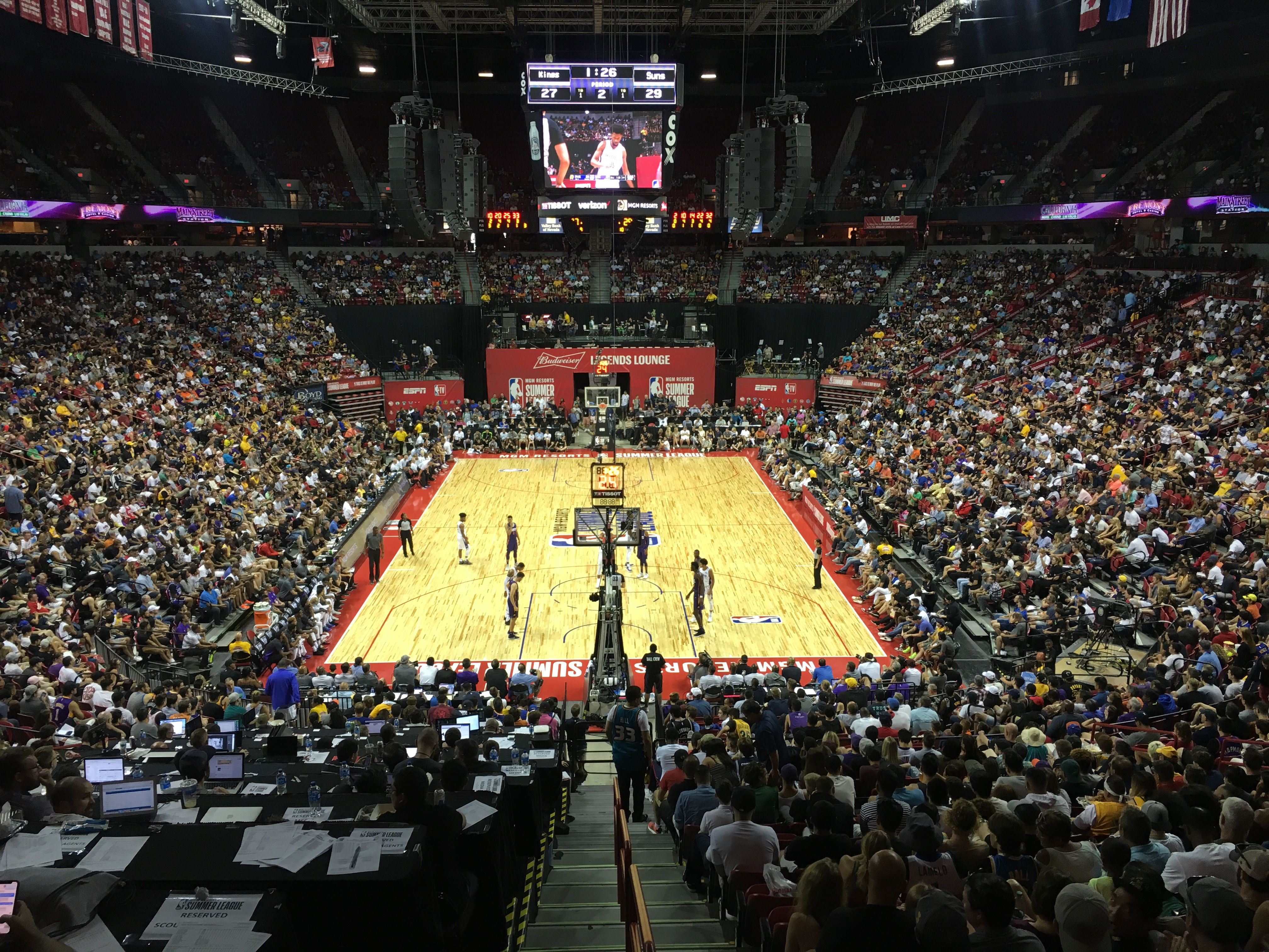 f13cb5dae64 NBA Summer League Day 2 and UFC 226 Are Sellouts