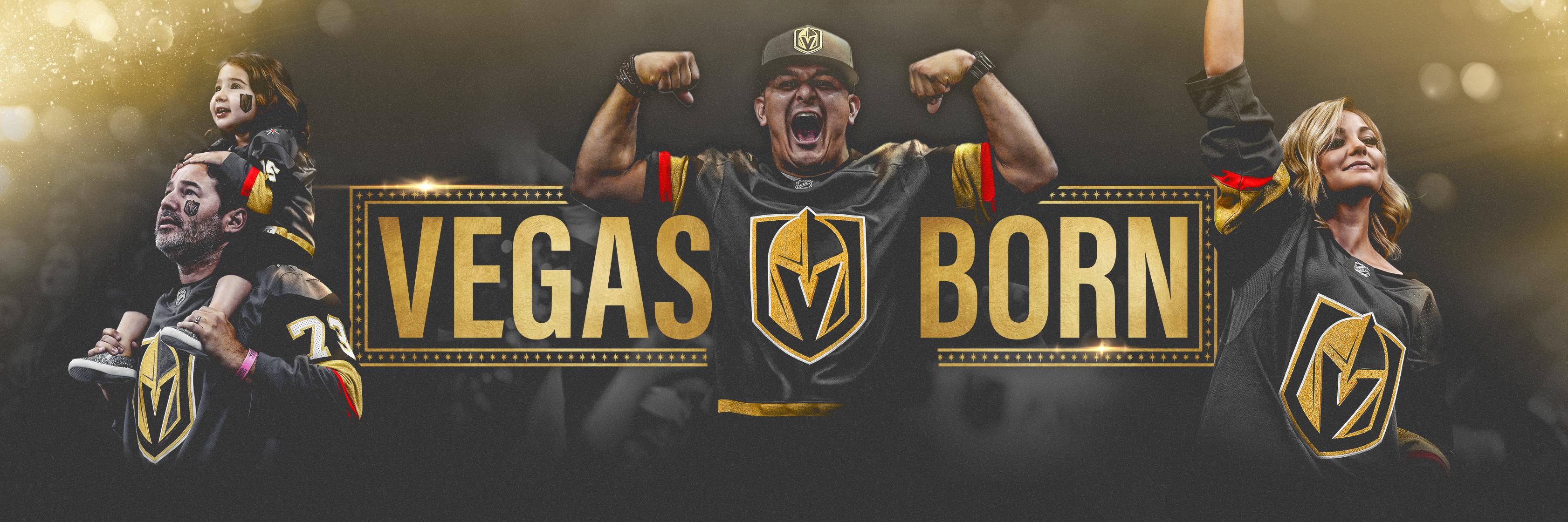Exclusive: Golden Knights Unveil Updated 'Vegas Born' Marketing