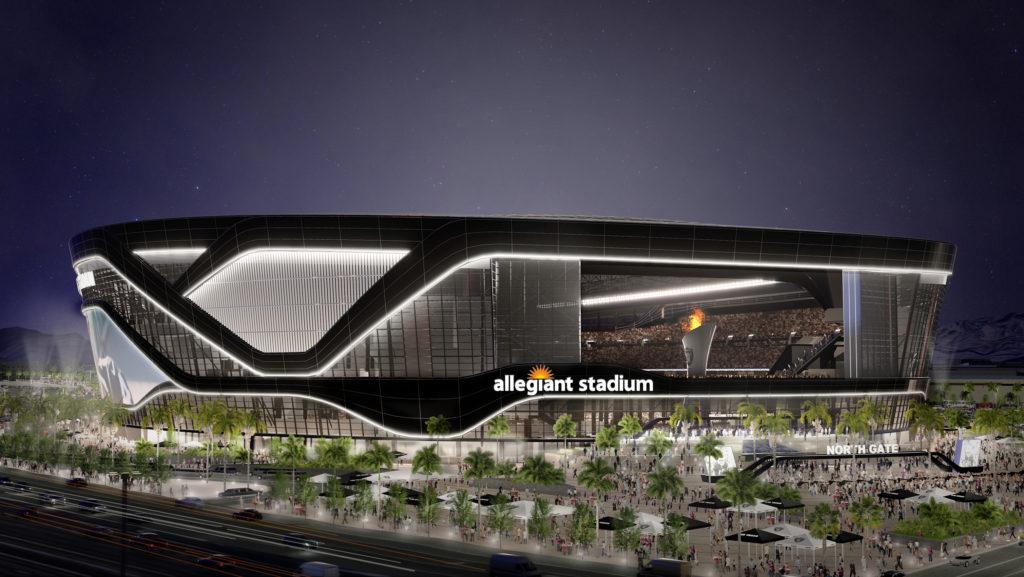 It S Official Raiders Stadium Is Allegiant Stadium