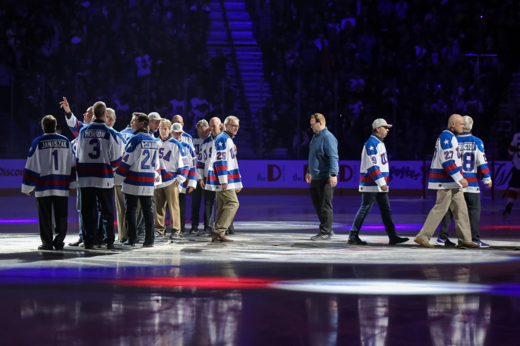 Miracle On Ice Night In Las Vegas Has Golden Knights Defeating Florida Panthers, 5-3, Before 18,480 Saturday - LVSportsBiz