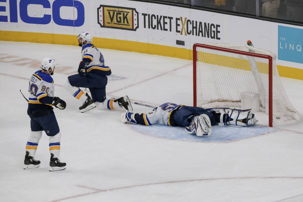 Golden Knights Come Back To Knock Off Blues On Home Ice (Again) - LVSportsBiz